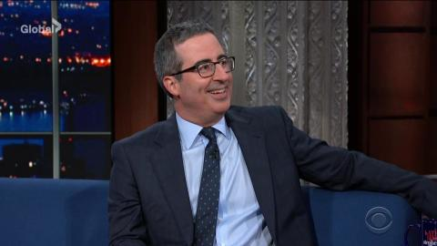 John Oliver Dishes On Disneys The Lion King On The Late