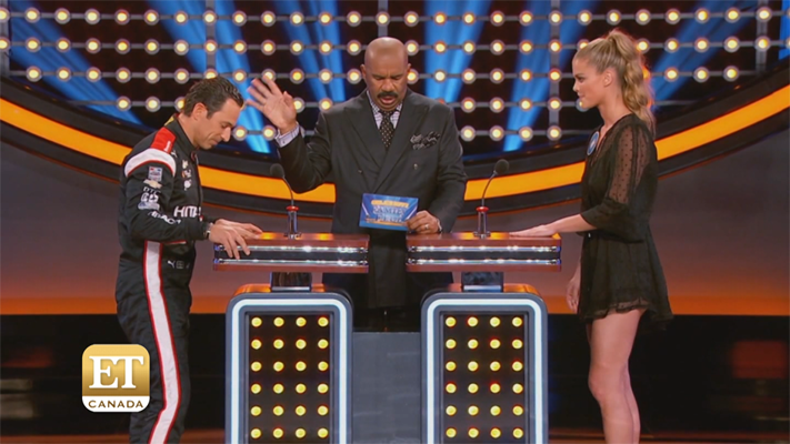 'Celebrity Family Feud: IndyCar Drivers Vs Swimsuit Models ...