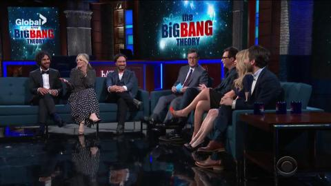Cast of The Big Bang Theory Does Series Send Off on The Late