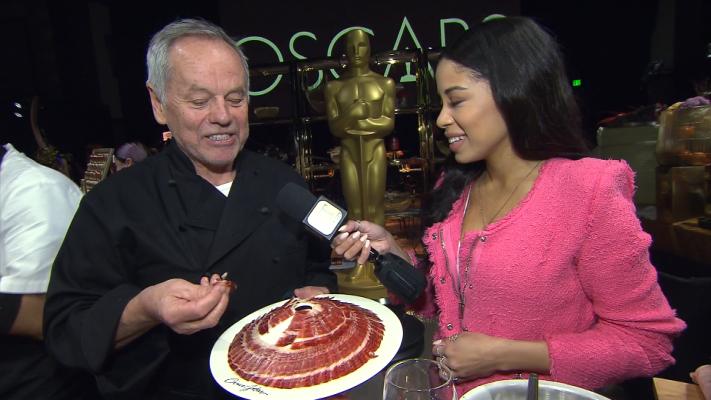 Wolfgang Puck Shows Off Oscars Menu
