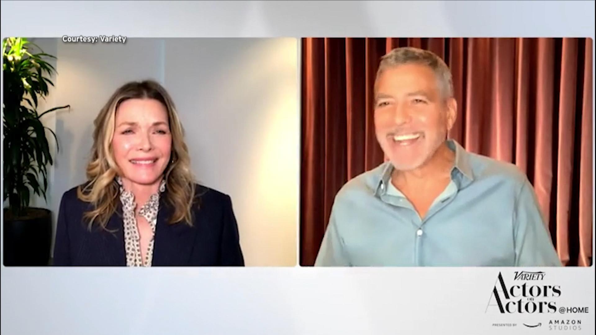 George Clooney Recalls Being Drunk On 'One Fine Day' Set