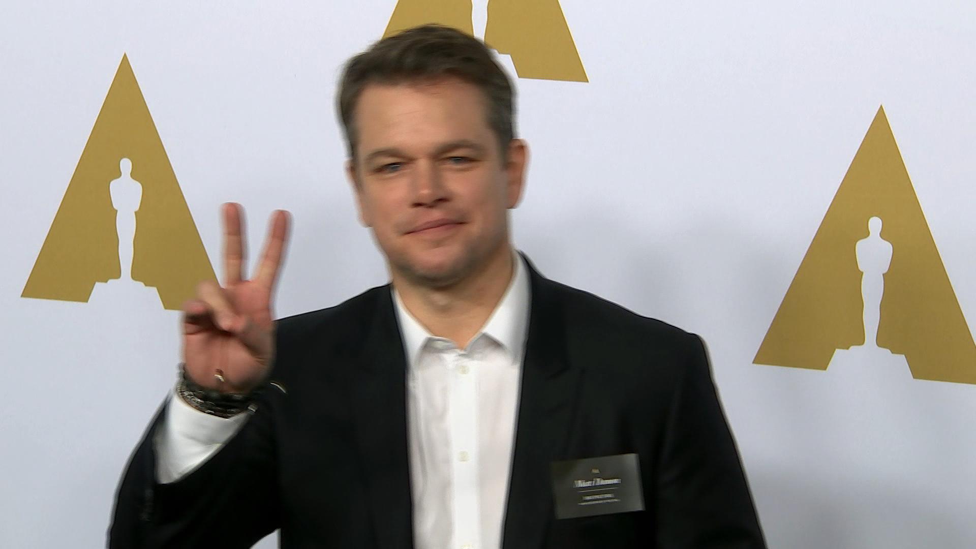 Matt Damon Jokes About Bennifer's Rekindled Relationship