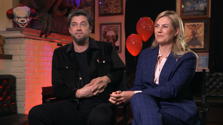 'It Chapter Two''s Andy And Barbara Muschietti Talk Scary Movies