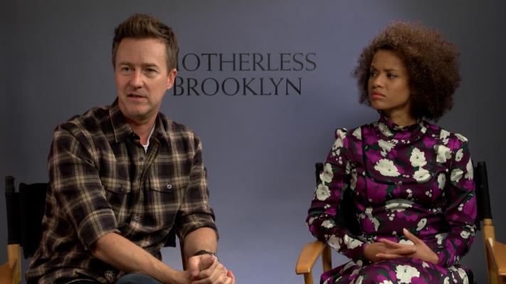 Edward Norton Talks 'Motherless Brooklyn'