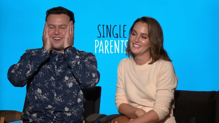 Leighton Meester, Taran Killam Talk 'Single Parents' Season 2