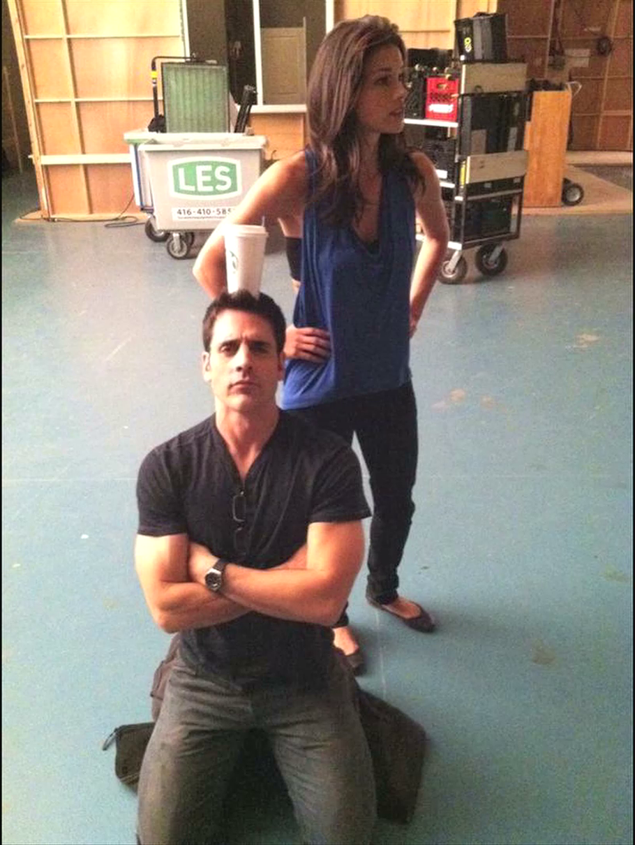 Ben-Bass-and-Missy-Peregrym-Rookie-Blue