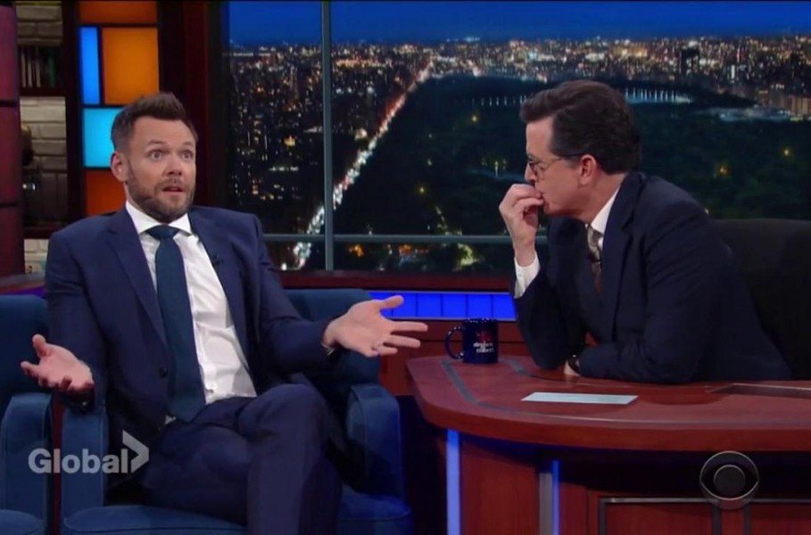 The Great Indoors' Joel McHale talks about his upper body