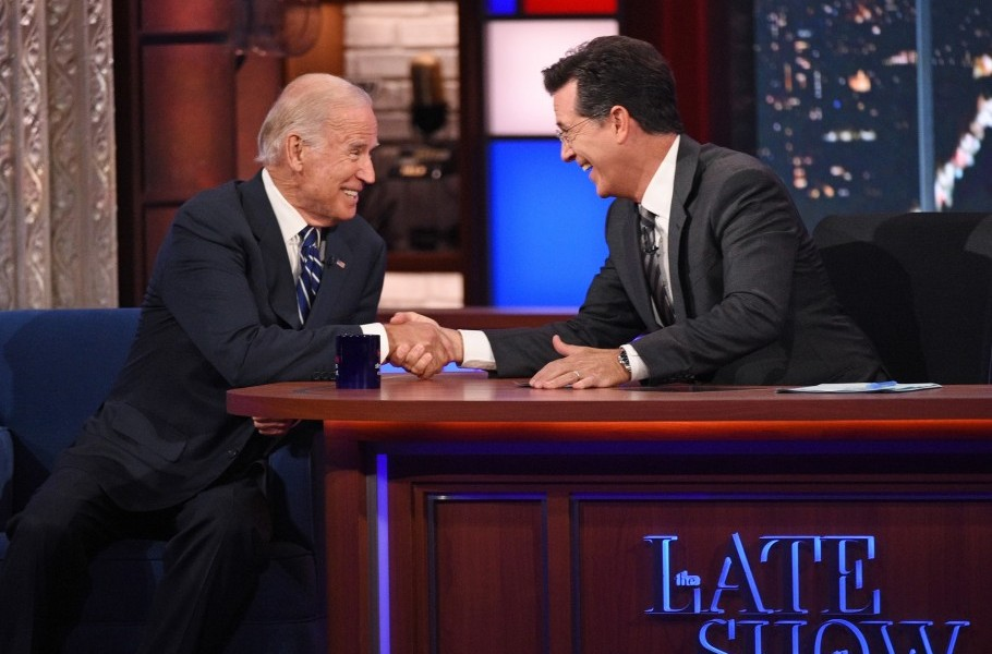 Vice President Biden's first interview since the election: The Late Show