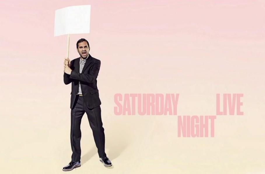 Aziz Ansari hosts Saturday Night Live