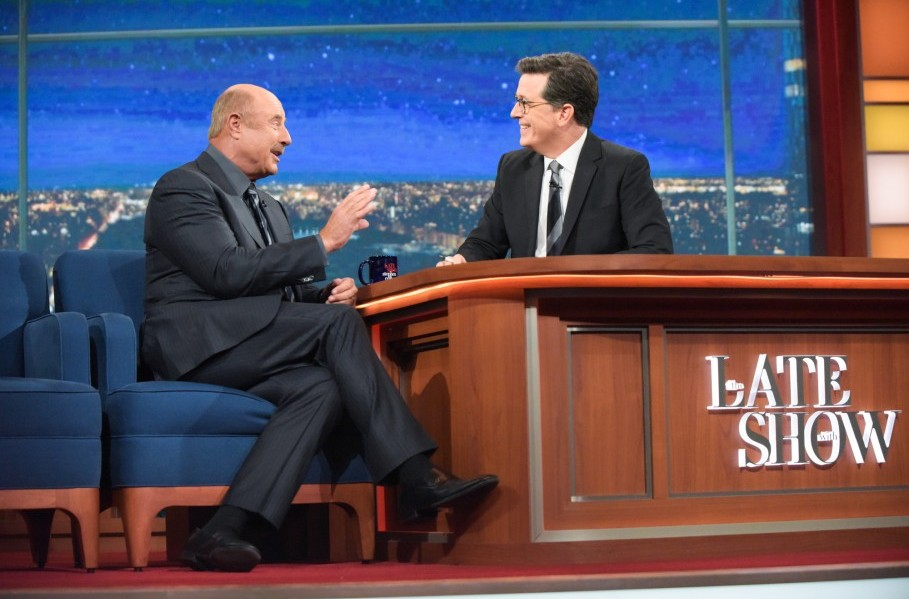 Dr. Phil diagnoses America, prescribes treatment on The Late Show
