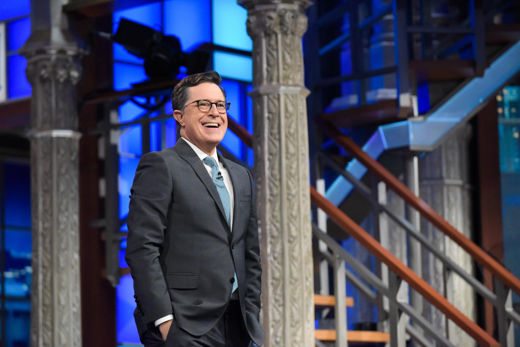 The News According to Stephen Colbert