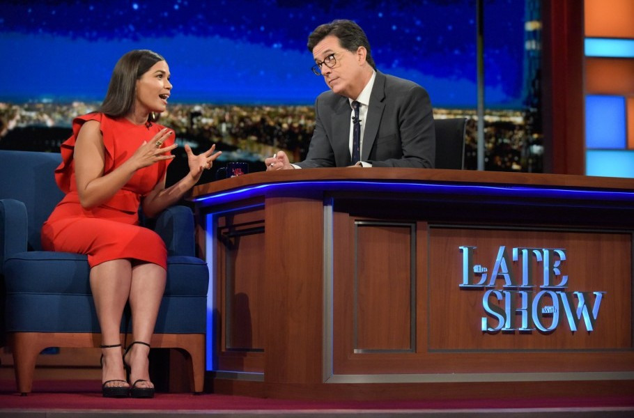 Superstore's America Ferrera pays The Late Show a visit!