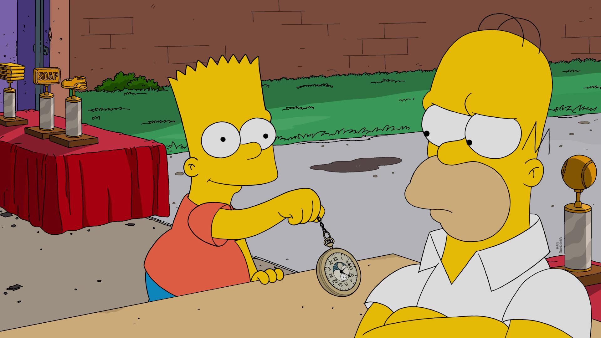 The simpsons season 27 photo gallery - Marge simpson et bart ...