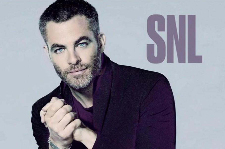 Chris Pine Hosts Saturday Night Live
