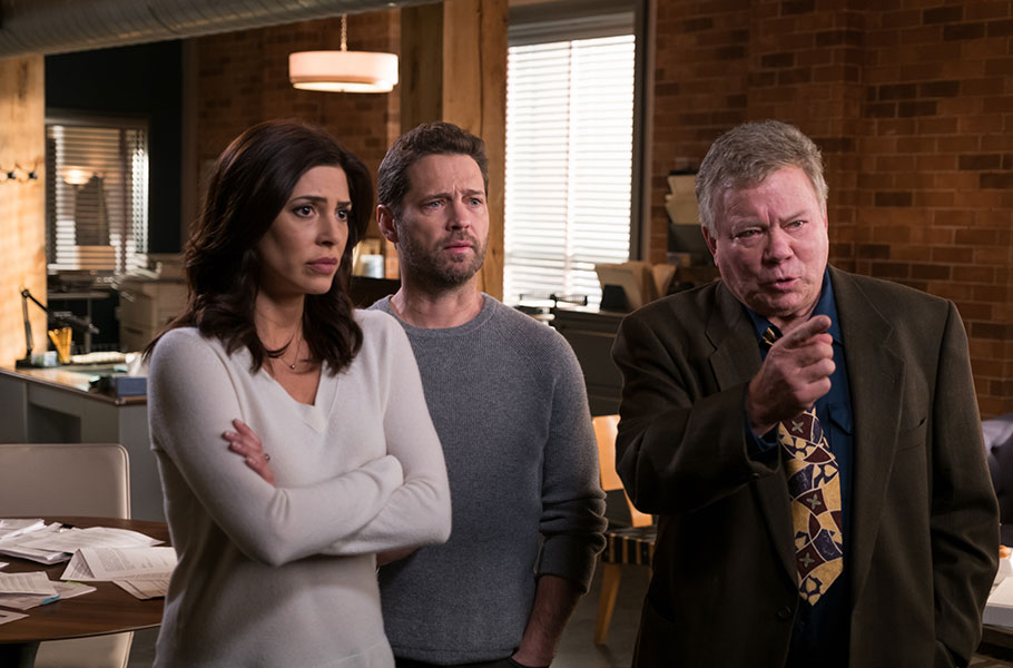 William Shatner Guest Stars in 'Private Eyes' Thurs, June 29