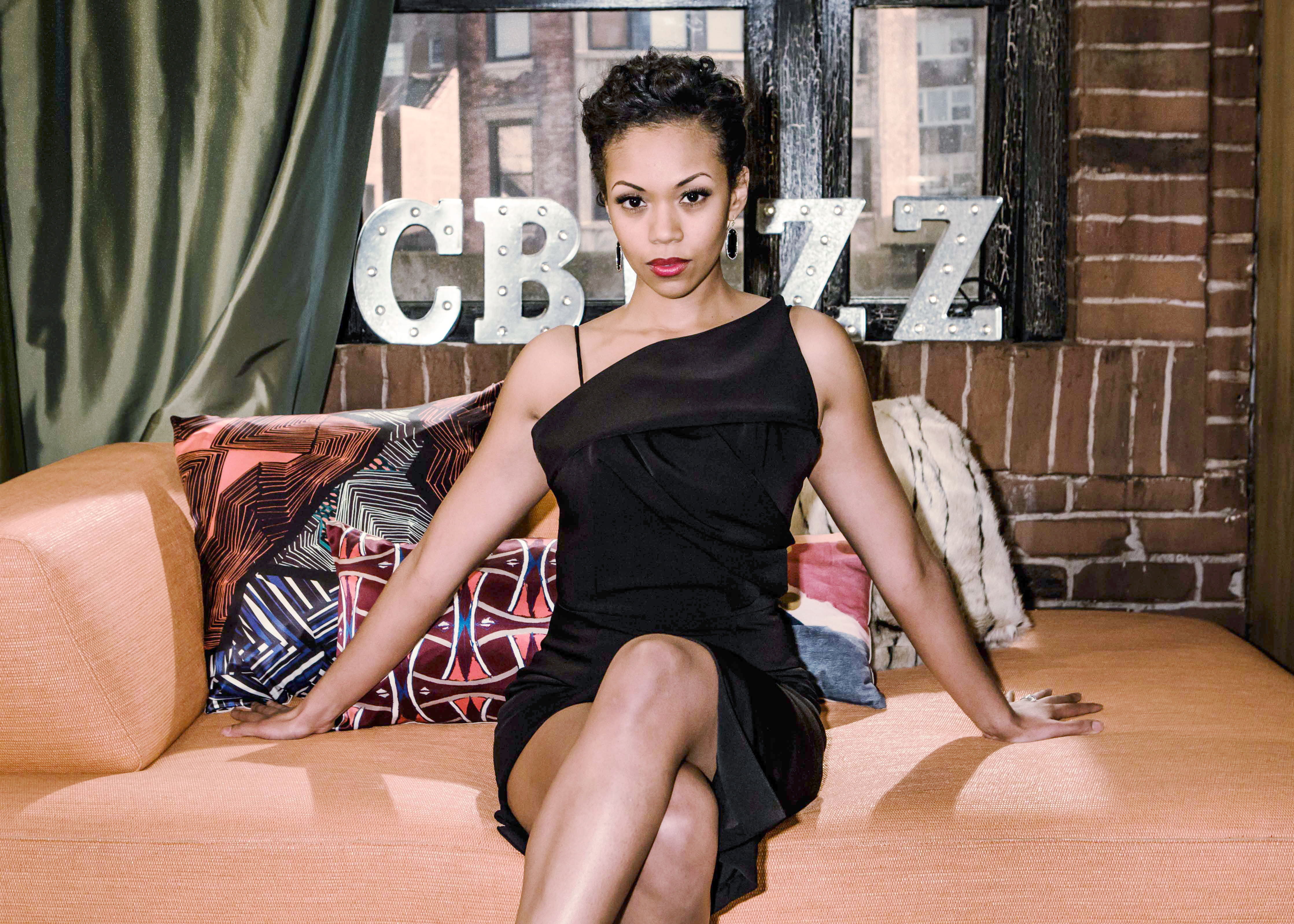 Mishael Morgan on playing Hilary Curtis: I love being a little bad