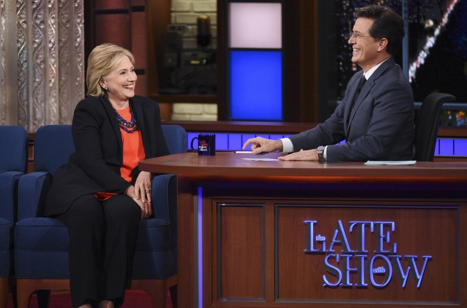 Hillary Clinton Talks Trump and New Book 'What Happened' on The Late Show