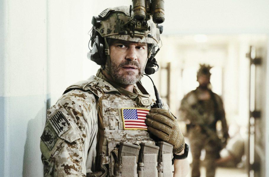 SEAL Team's David Boreanaz talks stunts and fists with Colbert