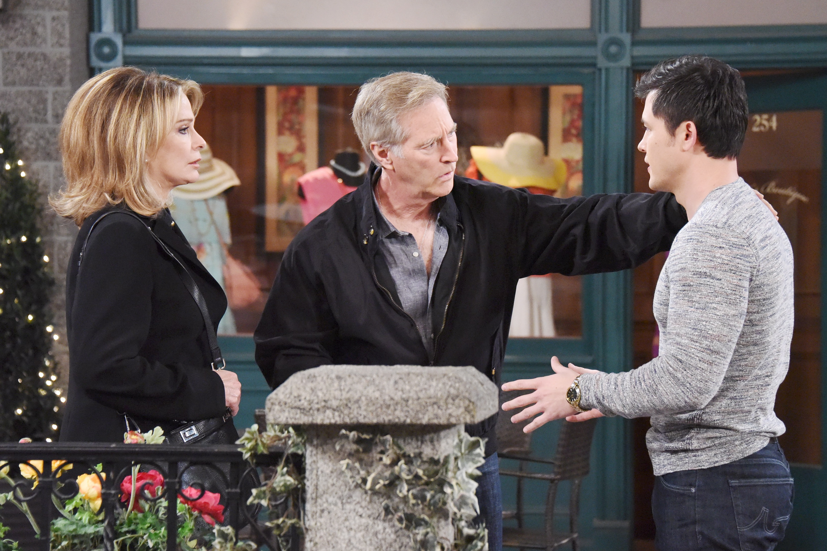 Days of Our Lives: Marlena, John, and Paul