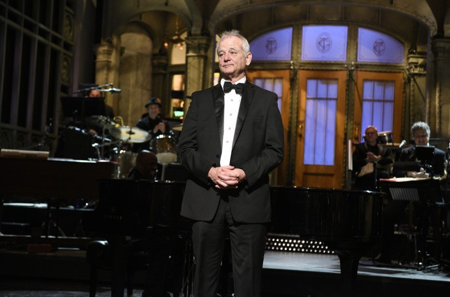 Bill Freaking Murray Crashes The Late Show!