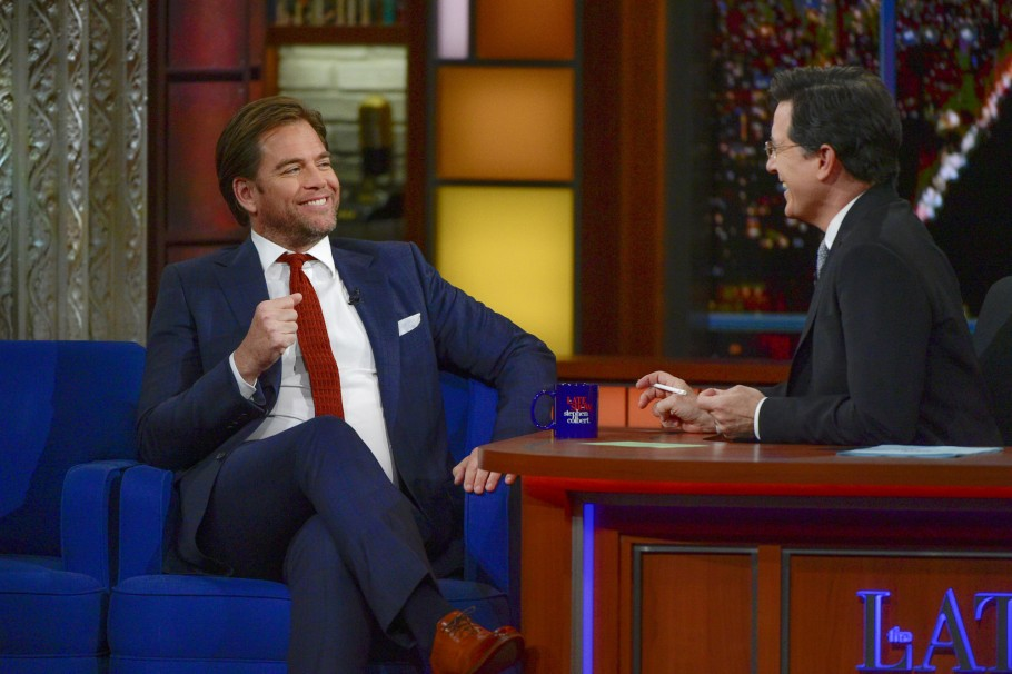Bull's Michael Weatherly Dreams About Stephen Colbert
