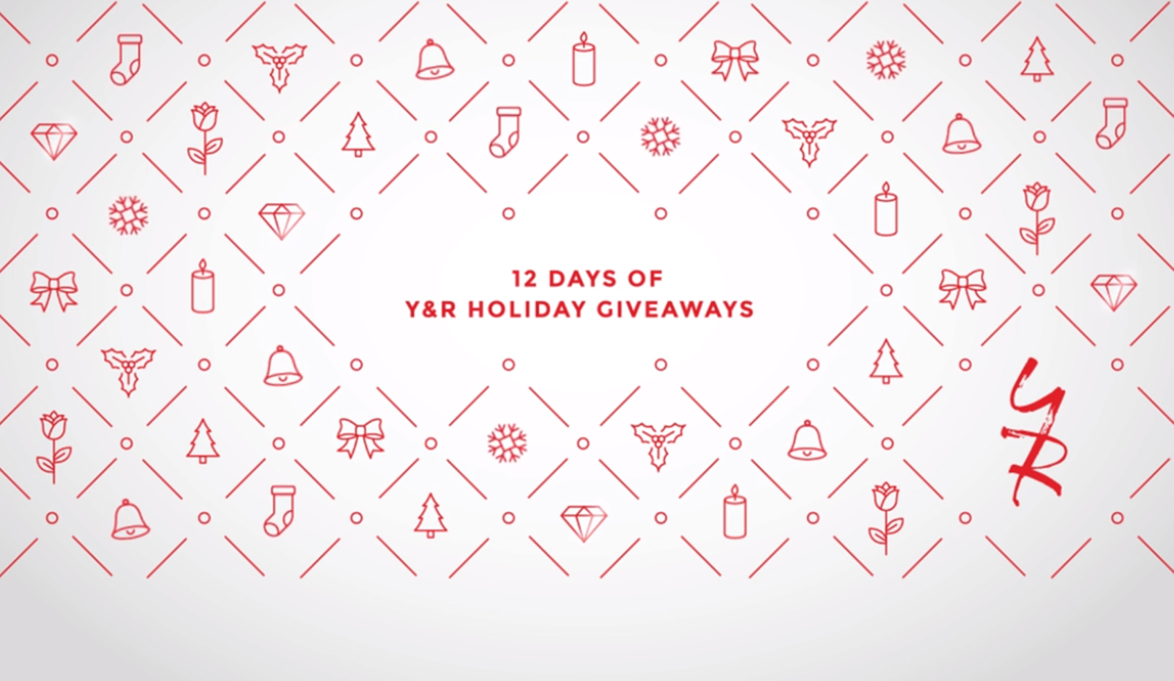Giveaway! Celebrate the Holidays with 12 Days of Y&R Exclusives