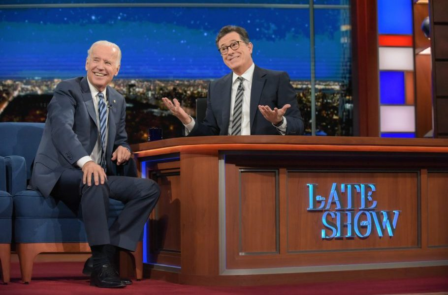 Joe Biden Gets Real On The Late Show With Stephen Colbert