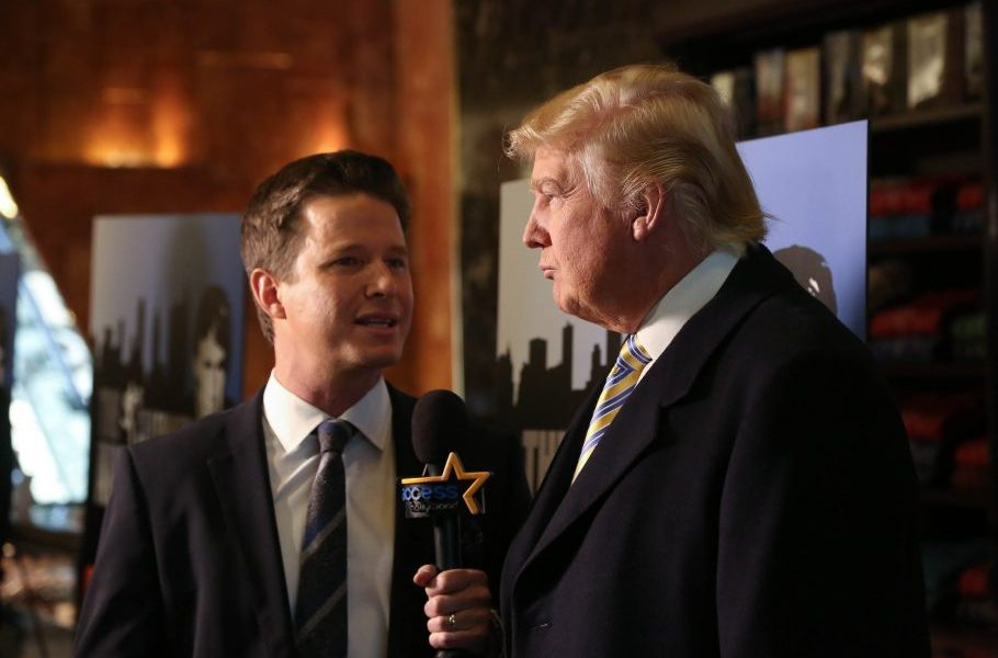 The Late Show: Billy Bush talks the Access Hollywood tape and Trump